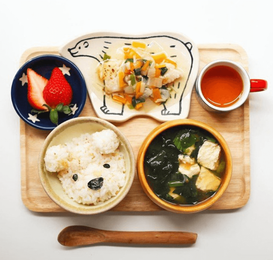 Mẹ Nhật làm thực đơn siêu lung linh
